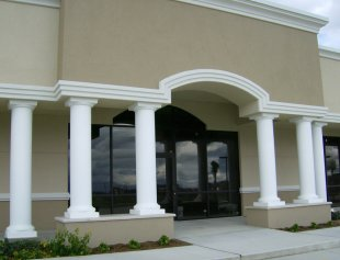decorative columns for support