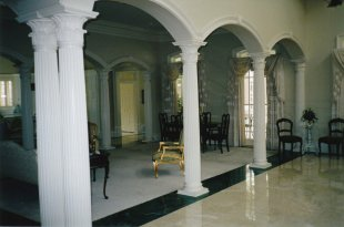 Pillars porch pillars fiberglass pillars melton classics for Fiberglass interior columns