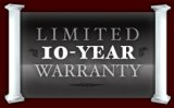 Ten Year Limited Warranty