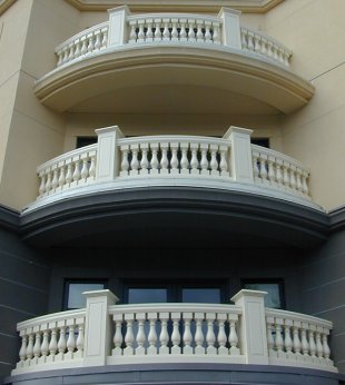 Rounded Balustrades