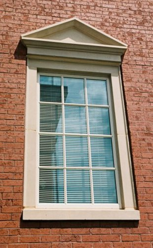 Architectural Window Sills : Meltonstone cast stone window features