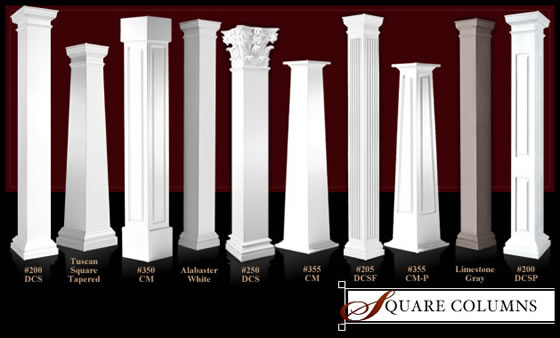 Column selection guide selecting a column guide for Architectural columns
