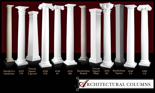 Architectural Columns And Pillars : Architectural columns by melton classics inc
