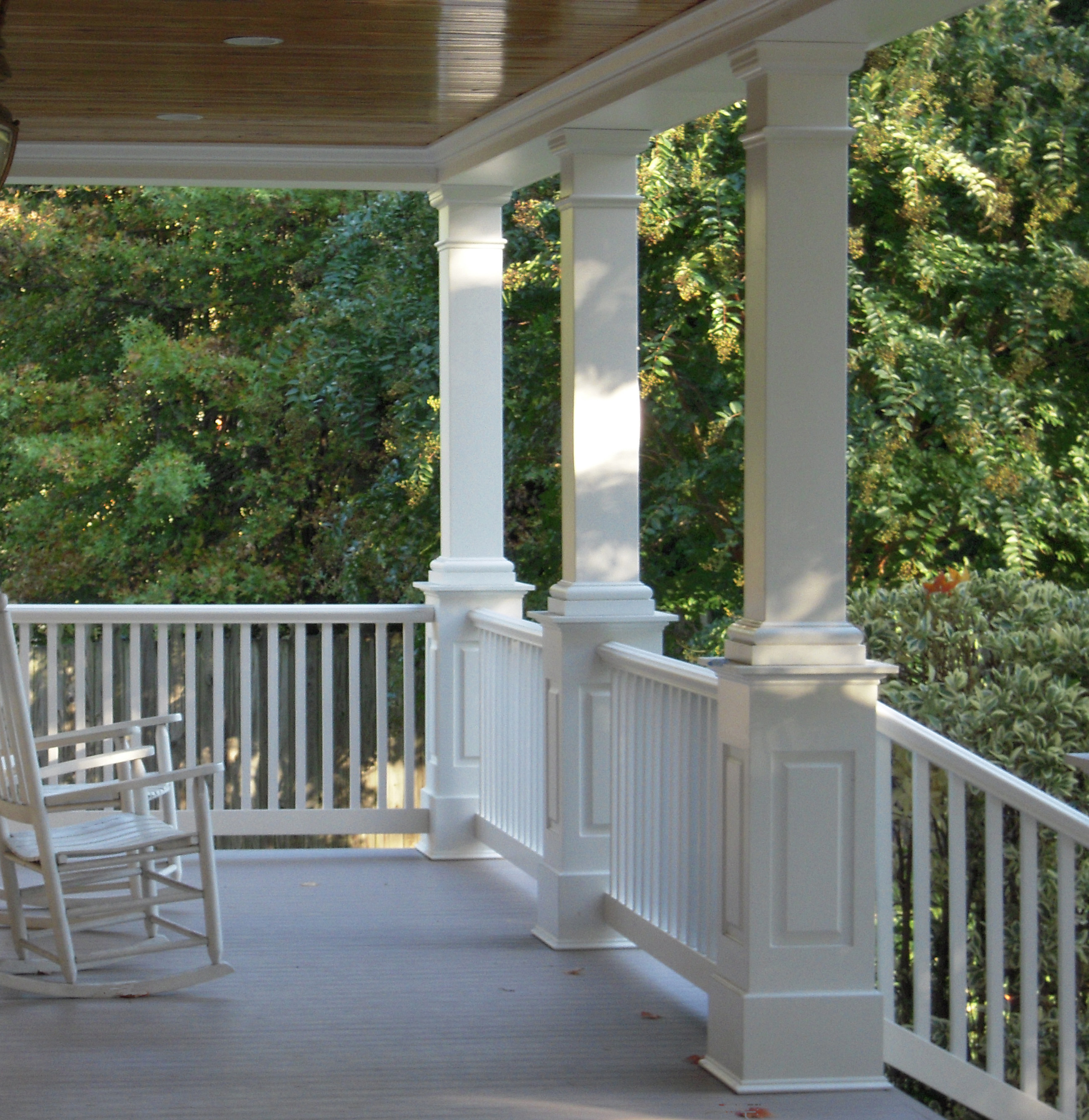 Columns by melton classics for Front porch pillars design